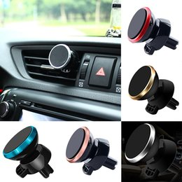 sticky phone holder for car Australia - Magnetic Phone Holder for Xiaomi Huawei Car GPS Air Vent Mount Magnet Cell Phone Sticky Stand Holder for iPhone 8 7 6 XS Samsung