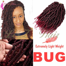 kanekalon weave Australia - Kanekalon Crochet Hair Braids 14inch Soft Spring Twist Hair Extension Micro Synthetic Curly Weave Crochet Braids 24Roots