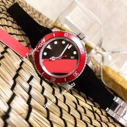 RubbeR digital watches online shopping - orignal clasp men watch Black rubber strap Black ceramic bezel sea dweller automatic self winding watches fashion wristwatch
