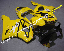 Honda Cbr 954 Rr Black Australia - For Honda CBR900RR 2002 2003 954 CBR900 RR CBR-900RR 02 03 ABS Plastic Yellow Black Bodywork Fairing Kit (Injection molding)