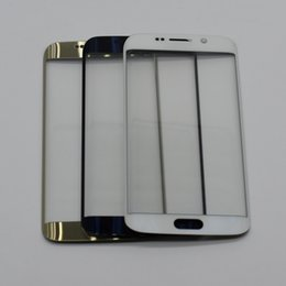$enCountryForm.capitalKeyWord NZ - Top quality Outer Lens Glass For samsung galaxy S6 edge G925 G925F S6 edge plus g928 Touch Screen Front Glass with logo