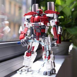 Kids Block Set Australia - Pacific Rim Series Building Blocks Set Model Robot Armor DIY Bricks Educational Toys Kids Gifts Compatible With Legoed Pacific Rim