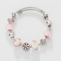 $enCountryForm.capitalKeyWord Australia - Love Bracelet for Women fit Pandora 925 Sterling Silver Charm Bracelets Designer Bracelets Crystal Beads Jewelry Hot Sale