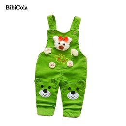 $enCountryForm.capitalKeyWord Australia - good quality New Spring Kids Children Overalls Boys Pants Toodler Boys Bib Straps Cowboy Trousers Cartoon Bear Baby Boys Pants 2019