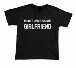 $enCountryForm.capitalKeyWord Australia - Most AweHip hopme Girlfriend No1 best T shirt Gift Idea birhday present Tee Christmas