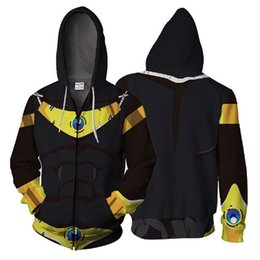05e196613 Anime New dragon ball Cosplay Costumes Zipper Hoodies Sweatshirts Printing Unisex  Adult man and women Clothing