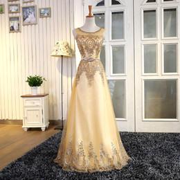 Black Dress Golden Beading Australia - wholesale Beading Gold Bridesmaid Dress Blue Red Black Golden Bridesmaid Dresses