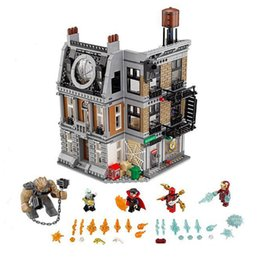 $enCountryForm.capitalKeyWord Australia - 76108 1125pcs Super Heroes The Sanctum Sanctorum Showdown Building Blocks Toys For Children Marvels Figures Gift MX190730