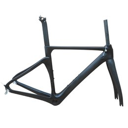 $enCountryForm.capitalKeyWord Australia - NO logo carbon fiber road frame Di2&Mechanical racing bike carbon road frame+fork+seatpost+headset bike matt glossy