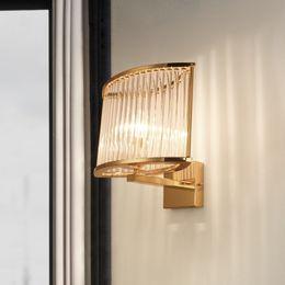 $enCountryForm.capitalKeyWord NZ - Modern Glass Wall Lights Sconce Gold Chrome Wall Lamps for Bedroom Bedside Corridor Living Room Ai