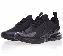 $enCountryForm.capitalKeyWord NZ - Wholesale 2018 High Quality Mens Flair Triple Black AH8050 Trainer Sports Running Shoes sole 270s Sneakers Size US 7-11