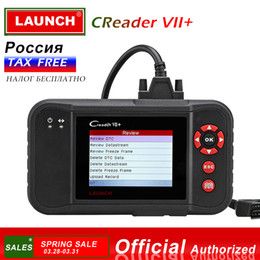 Code Engine Australia - LAUNCH X431 Creader VII+ OBD2 Car Code Reader Scanner Auto Diagnostic Tool for Engine Transmission ABS Airbag Creader VII Plus
