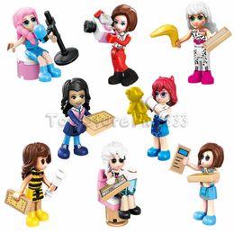 $enCountryForm.capitalKeyWord Australia - LOL Doll LOL Model Building Blocks Toys 8 Desgines LOL Toy Best ABS Building Kids Toys