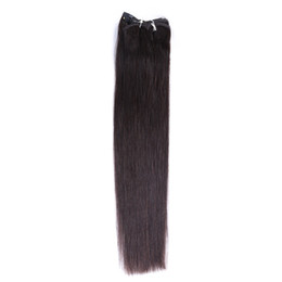 $enCountryForm.capitalKeyWord UK - Hot Sale Fashion New Temperament Solid Color Female 18inch Long Straight Real Human Hair No Trace Hair Curtain