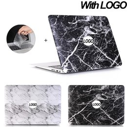 $enCountryForm.capitalKeyWord Australia - Marble Laptop case For MacBook 11 Retina 12 Pro 13 15 Touch bar case for macbook Air A1932 2018 + Keyboard Cover