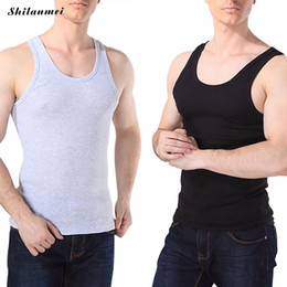 0defc7b53f277 Tummy Belly Slimming Body Shapewear Australia - Men s Slim Body Shaper  Tummy Belly Fatty Underwear Vest