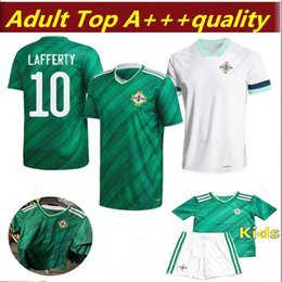 Discount soccer jerseys thai free shipping Free shipping newest Thai quality 2020 2021 Northern Ireland 2020 Northern Ireland Soccer Jerseys home man + kids footba