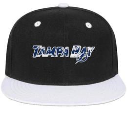 Cotton Bay Australia - Tampa Bay Lightning Coconut tree series Unisex Man Hats Woman Cap Designed Cotton Snapback Flatbrim Athletic Hat Ball Caps for Men