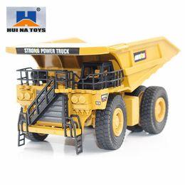 $enCountryForm.capitalKeyWord Australia - HUINA TOYS NO.1912 1 40 Alloy Mining Dump Trucks Car Die-Cast Metal Engineering Construction Vehicle Model kids Toys