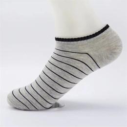 $enCountryForm.capitalKeyWord Australia - Free Shipping INS Designer Spring Sports Athletic Men Socks Summer Cotton Stripes Loafer Boat Non-Slip Socks Cotton Men's Slippers Socks