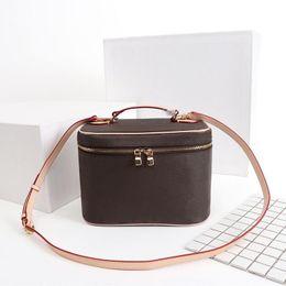 Designer make-up tas vrouwen oude bloem make-up tas designer pouch mode ontwerper cosmetische zak handtas schoudertassen