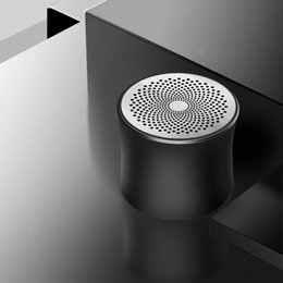 $enCountryForm.capitalKeyWord Australia - 2019 TWS Bluetooth speaker new private model metal portable card small audio e-commerce gift customized speaker logo A2 free shipping