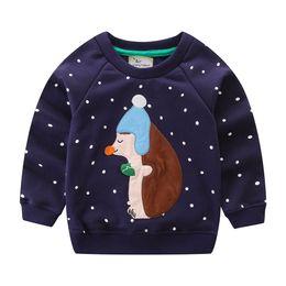 Chinese  New Toddler Sweatshirt Cotton Fashion Spring winter girls Boys cartoon Tops Hoodies kids Clothing Childrens t-shirt Tees manufacturers