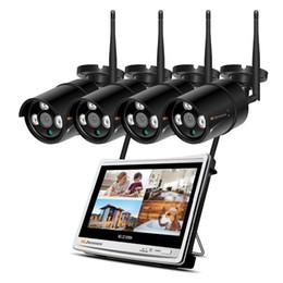 "$enCountryForm.capitalKeyWord NZ - 4CH 1080P Wireless NVR Wifi CCTV System 12"" LCD Monitor Screen 2MP Home Outdoor Security Wifi Camera Video Surveillance Kit HD"
