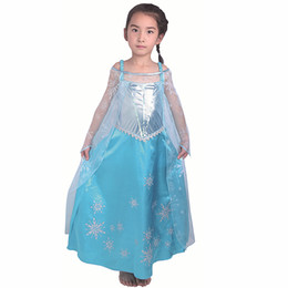 Stage Show Costumes UK - wholesale Carnival Girl Dance Princess Summer Dress Children Show Full Dress Skirt Baby Performance Serve Halloween Stage cosplay Costumes