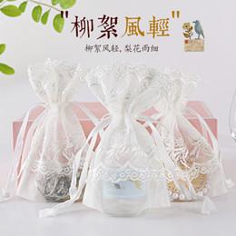 $enCountryForm.capitalKeyWord NZ - 2019 explosion models white catkin bag storage jewelry drawstring bundle pocket spot wholesale high-end creative beam pocket