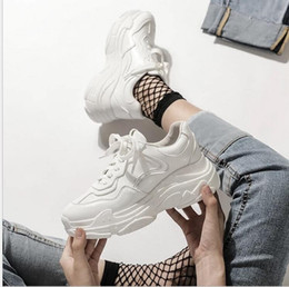 $enCountryForm.capitalKeyWord Australia - New Korean version of leisure Baitao muffin women's shoes sneakers