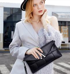 $enCountryForm.capitalKeyWord Australia - Women Genuine Leather Clutch Bags Letter Shoulder Bags Cross Body Fashion Luxury Soft leather high quality commuter bag hottest brand