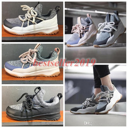 Christmas Gift Shoes Australia - Loop Chaussures WMNS City Black Oreo Pink Womens Mens Light Gray Luxury Running Designer Shoes Sneakers Christmas Gift Brand Trainers
