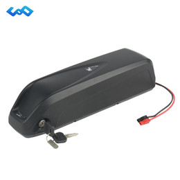 China Electronic Bicycle 48V 10.4Ah Hailong Battery use LG Cell Li-ion Battery Pack match 48V 750W 1000W Bafang Motor suppliers