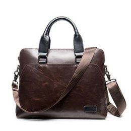 "$enCountryForm.capitalKeyWord Australia - Vintage Men Briefcase Business Office Handbag Crazy horse Leather Shoulder Messenger Bag for 13"" Laptop Men's Crossbody bags 173 #159630"