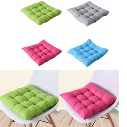 $enCountryForm.capitalKeyWord Australia - New 40x40cm Home Seat Cushion Pad Winter Office Bar Chair Back Seat Cushions Sofa Pillow Buttocks Chair Cushion