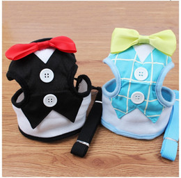 $enCountryForm.capitalKeyWord UK - Fashion Dog Harness & Leash Pet Leads for Small Dogs Puppy Dog Harness Vest with Bow Tie Party & Wedding Formal Tuxedo Costume