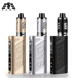 vaporizer for smoking mod 2019 - New 80W e cigarettes for liquid box mod kit vapor smoke shisha pen electronic cigarette vaper smoking vaporizer hookah v