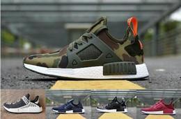 fe201d06a 2018 New Original NMD XR1 PK Running Shoes Cheap R1 R2 NMD XR1 Runner japan  Primeknit OG PK Human Race Black White Men Women Sneakers