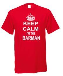 $enCountryForm.capitalKeyWord Australia - Keep Calm I'm The Barman Bar Man Pub Landlord Publican Novelty Fun T-shirt,Male Hip Hop funny Tee Shirts cheap wholesale