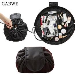 $enCountryForm.capitalKeyWord UK - wholesale Fashion Travel Drawstring Cosmetic Bag Case Makeup Bag Organizer Make Up Case Storage Pouch Toiletry Beauty Kit Wash