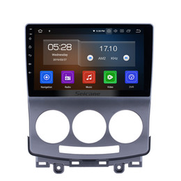mazda car dvd gps navigation UK - 9 Inch Android 9.0 Aftermarket OEM Car Stereo GPS Navigation System for 2005-2010 Mazda 5 with Wifi Bluetooth support 3G Rear Camera car dvd