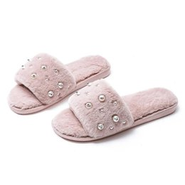 $enCountryForm.capitalKeyWord Australia - Lasperal Fashion Women Slippers Home Indoor Plush Slippers Female Flat Shoes Ladies Comfortable Soft Fur Slides Chaussure Femme