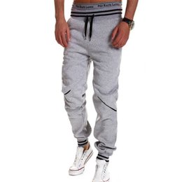 water resistant pants NZ - Pockets Brand Men Pants Hip Hop Harem Joggers Pants 2018 Male Trousers Mens Joggers Solid Pants