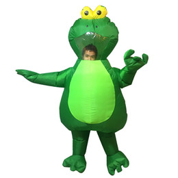 cartoon role playing costumes Australia - The Frog Prince Inflatable Costumes Adults Halloween Christmas Party Cosplay Role-play Inflatable Dolls Animals Inflatable Toys
