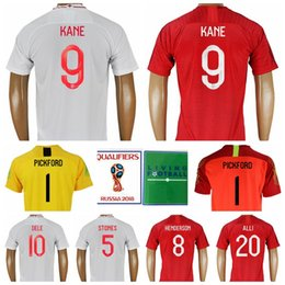 7dbebd606 2018 World Cup Soccer 9 Harry Kane Jersey Men 10 STERLING 14 WELBECK  Football Shirt Kits Red White 5 STONES 2 WALKER