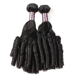 dyeing hair black NZ - 02Up and down the canister 100g pcs 2019 latest female curly hair, 100 % absolute human hair, black curly hair curtain