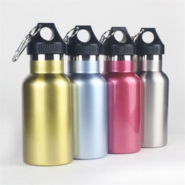 Wholesale Vacuum Flask New Style Big Mouth Stainless Steel Tumbler Creative Outdoors Motion Riding Portable Motion Kettle Summer Hot Sales 18cl p1