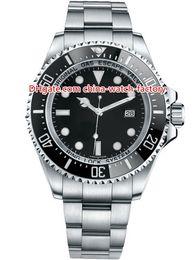 44mm Ceramic Bezel Australia - 12 Style High Quality Topselling 44mm Sea-Dweller 116660 D-Blue 40mm 116600 43mm 126600 Ceramic Bezel Asia 2813 Automatic Mens Watch Watches