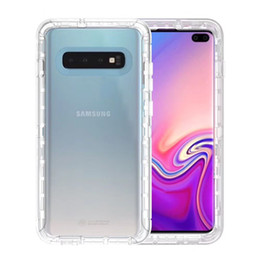 Phone clear full case online shopping - For Samsung S10 Defender Case Clear Heavy Duty Shockproof Full Body Protection Cover Phone Case For Samsung Galaxy S10 Plus